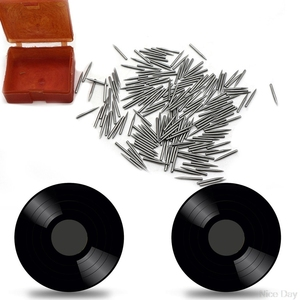 Image 2 - 5 Boxes Phonograph Turntable Dual Moving Magnet Stereo Vinyl Record Player Stylus Needle A13 20 Dropship