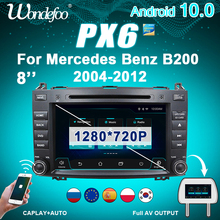 "8"" PX6 2 DIN Android 10 car radio For Mercedes Benz Sprinter B200 W209 W169 W245 Vito W639 A180 A160 auto audio stereo autoradio"