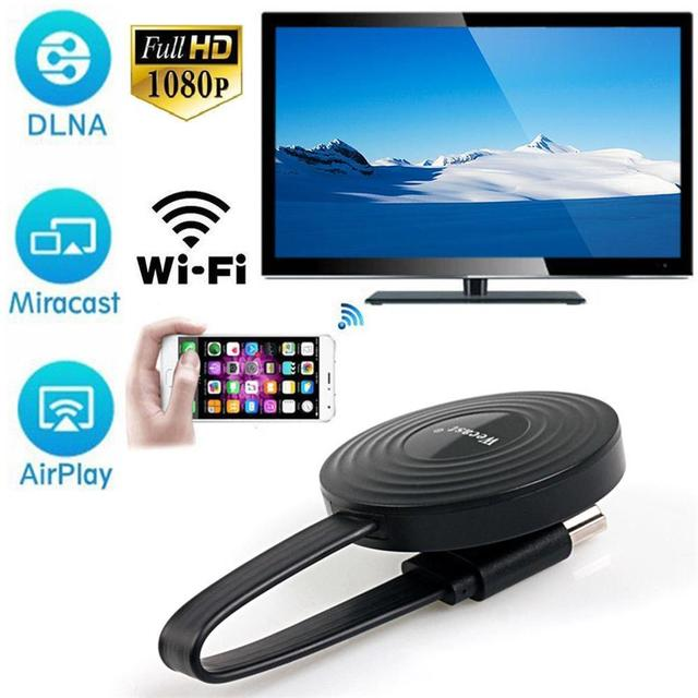 HDMI Wireless Display Receiver For iPhone Andorid Phone Screen Cast Mirroring Adapter HDMI Wireless Receive Dongle