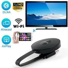 HDMI Wireless Display Receiver For iPhone Andorid Phone Screen Cast Mirroring Ad
