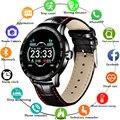 LIGE новые умные часы для мужчин и женщин  мониторинг сердечного ритма  кровяного давления  шагомер  водонепроницаемые спортивные Смарт-часы ...