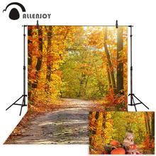 Allenjoy photography backdrop Beautiful autumn fall leaves forest new background photocall customize photo printed allenjoy photographic background grunge style concrete wooden scratches vintage new backdrop photocall photo printed customize
