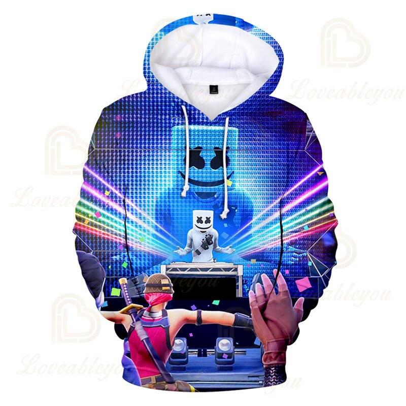 3 To 14 Years Kids Hoodies Game 3D Printed Music DJ Hoodie Sweatshirt Boys Girls Harajuku Cartoon Jacket Tops Teen Clothes 2