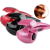curling iron LCD Screen Automatic Hair Curler Heating Hair Care Styling Tools Ceramic Wave Hair Curl corrugation for hair
