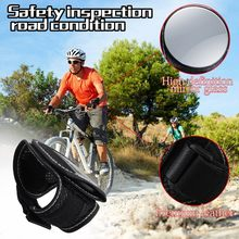Selling in stock Spot Fast deliver hot selling Bike Rearview Mirror Bicycle Back Mirror Cycling Arm Wrist Strap Rear View 805(China)