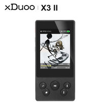 Xduoo x3 ii x3ii dsd mp3 плеер без потерь bluetooth портативный