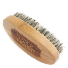 Beard-Brush Mustach Wonders-To-Comb New for Men Bamboo Face Massage That Works And Hemu