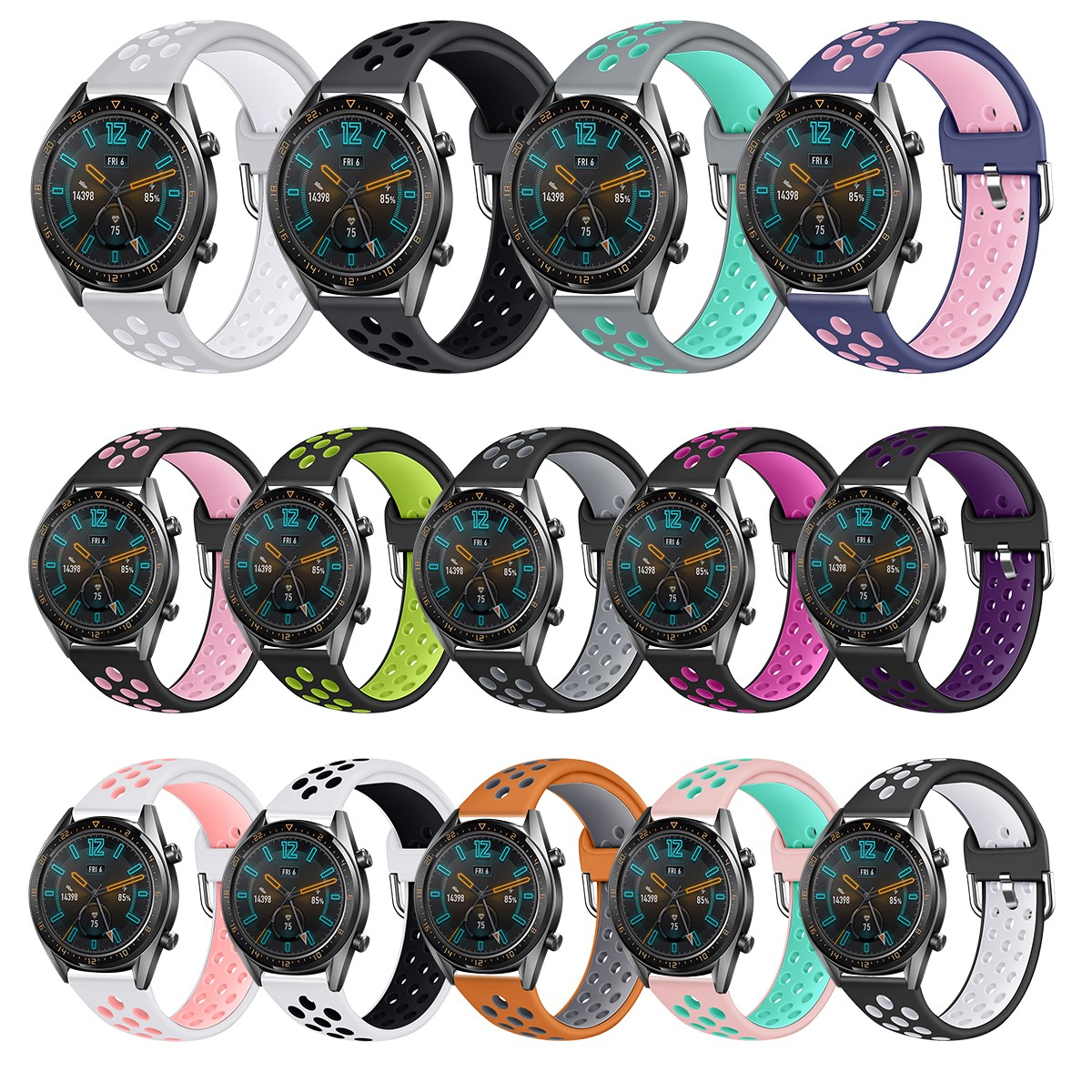 Sports Band For HUAWEI WATCH GT GT2 22MM Strap Band Bracelet Sport Replacement Watch Band For Gear S3  71002