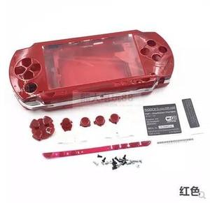 Image 3 - Бесплатная доставка 6 цветов для PSP 1000 PSP 1000 полный корпус Чехол Сменные Наборы кнопок