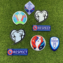 2021 Eurp  Champions Qualifier Cup Patch Heat Transfer Soccer Badge Soccer patch High quality football armbands