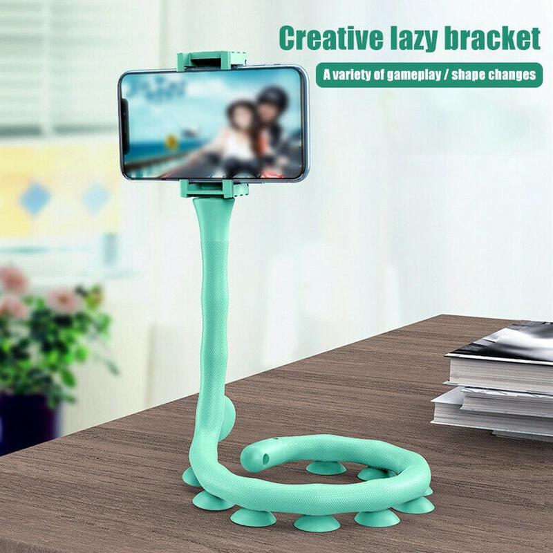 1Pcs Portable Multi-functional Silicone Suction Cup Bracket Mobile Phone Bracket Phone Holder
