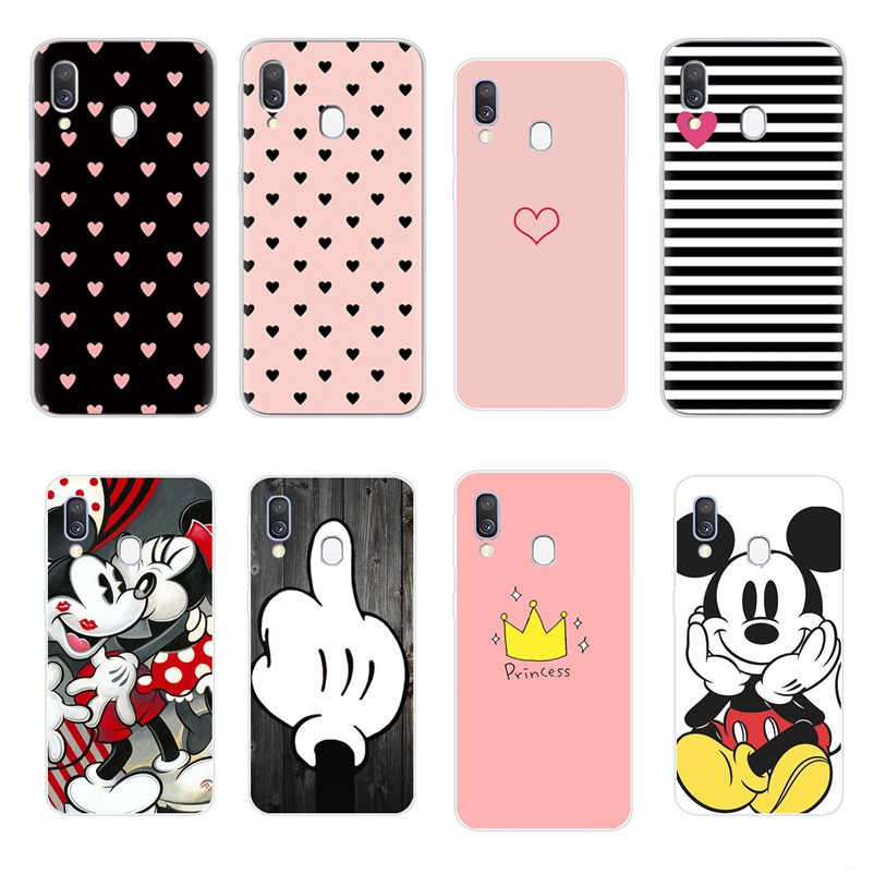 Soft Silicone TPU Case For Samsung Galaxy A10 A40 A50 A50S A30S A70 A70S Back Casing For Samsung A10S A30 A20 A305 Phone Cover