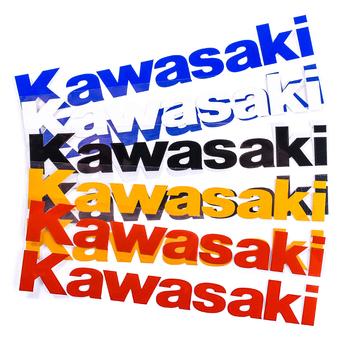 2 sztuk zestaw motocykl wymienna naklejka na obudowę logo motocykla spersonalizowana dekoracyjna odblaskowe naklejki dla Kawasaki motocykl tanie i dobre opinie Naklejki i naklejki Waterproof 2 2cm 15 8cm