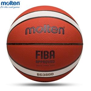 Molten Basketball Ball Official Size7/6/5 PU/Rubber High Quality Balls Outdoor Indoor Match Training Basketball basketbol topu