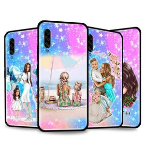 Woman Fashion Girl Super Mom Baby Phone Fall Cover for Samsung Galaxy A21S A50 A70 A71 A51 A10 A10E A10S A20 A20S A30 A30S Shell