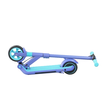 Rulind Q8 Kick Scooter Children 200w Power 21.6v Foldable Child's Electric Skateboard Max 14km Electric Scooter For Children 3