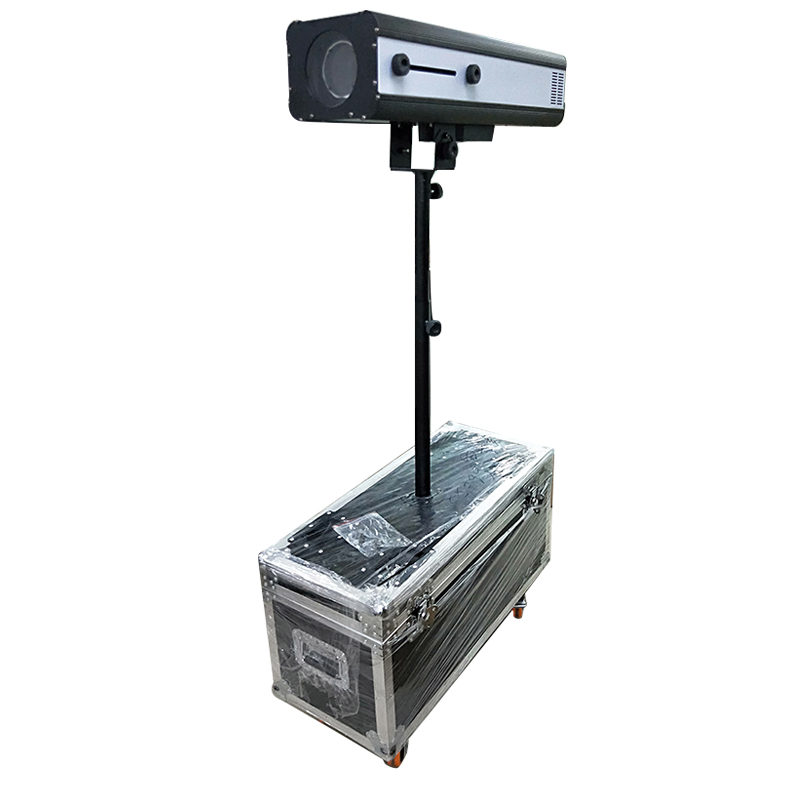 330w LED Follow Spot Light With Power 330 W LED Follow Tracker With Flight Case For Wedding/Theater Performance