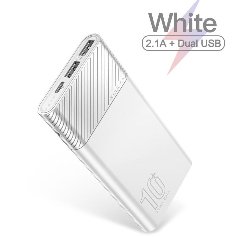 5V 2.1A White