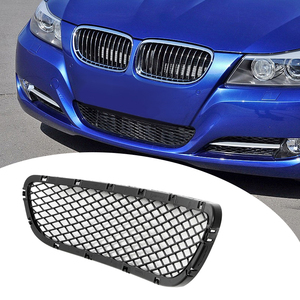 1 Piece ABS Plastic Front Bumper Lower Grille For BMW E90 E91 325i 328i 335i 2009/2010/2011/2012 Black 640*128*50mm