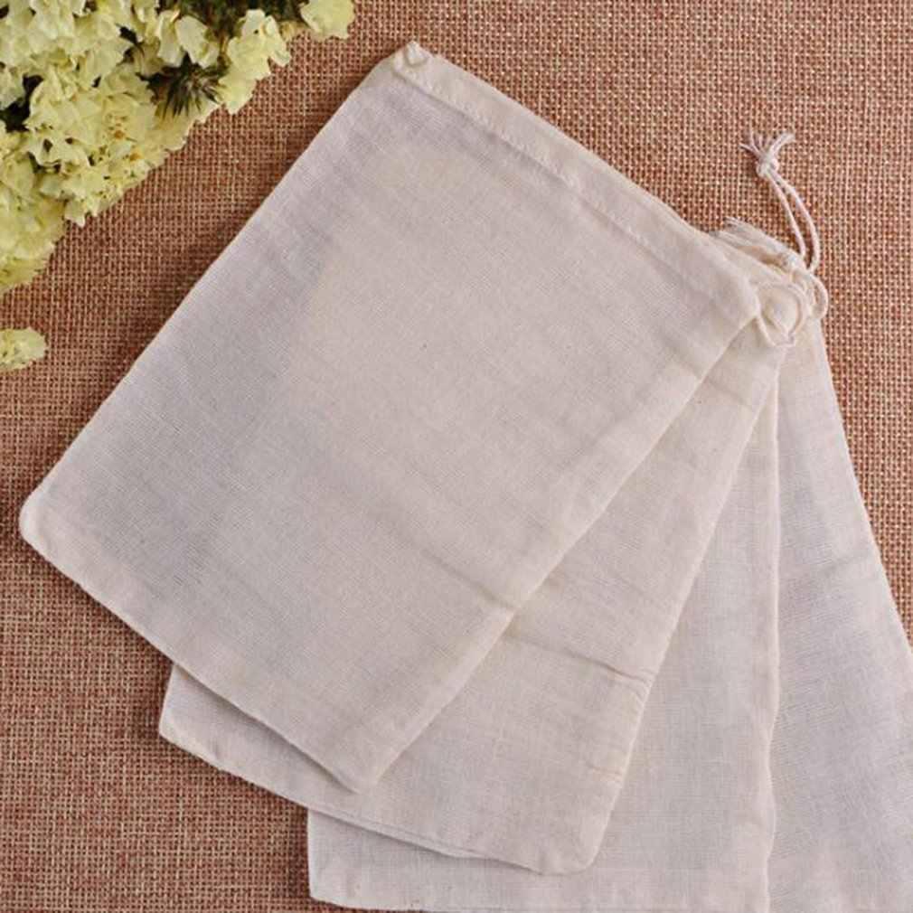 10 rozmiarów przędza papierowa pusta torebka ze sznurkami uszczelnienie termiczne filtr Herb luźna saszetka na herbatę