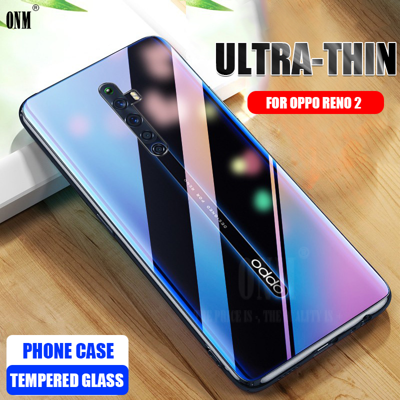 Case For OPPO Reno 2 TPU Silicon Durable Clear Transparent Soft Case For OPPO Reno Z / 2Z Phone Protective Back Cover TPU