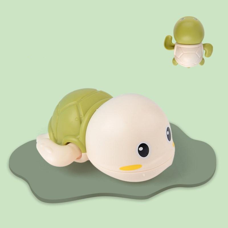 Baby Bath Toys Zabawki Do Kapieli  ABS  Wind Up  Tortoise Style  Beach Bathroom Swiming Pool Play Water kids Toddler Toys 3