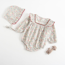 2020 New Long Sleeved romper Baby Girl Broken Flowers Baby Girl Clothes Baby Rompers Baby Girl Summer Clothes