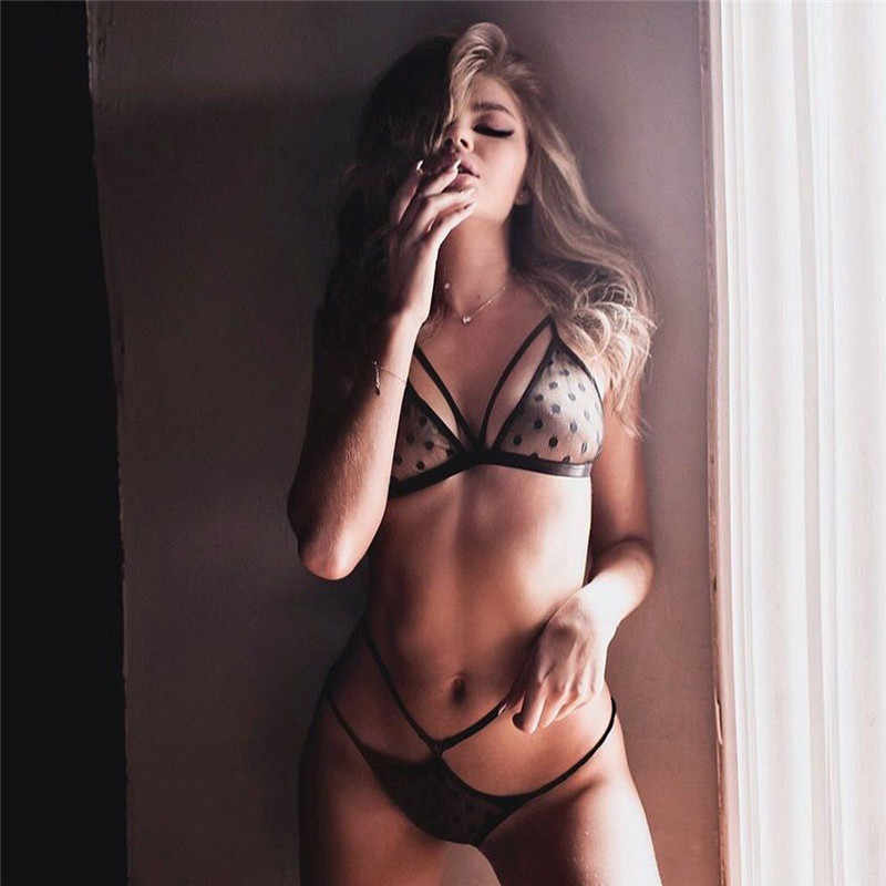Vrouwen Ondergoed Set Sexy Kant Bh Set Backless Push Up Bh String Nachtkleding Lingerie Set Ondergoed Кружевное Белье