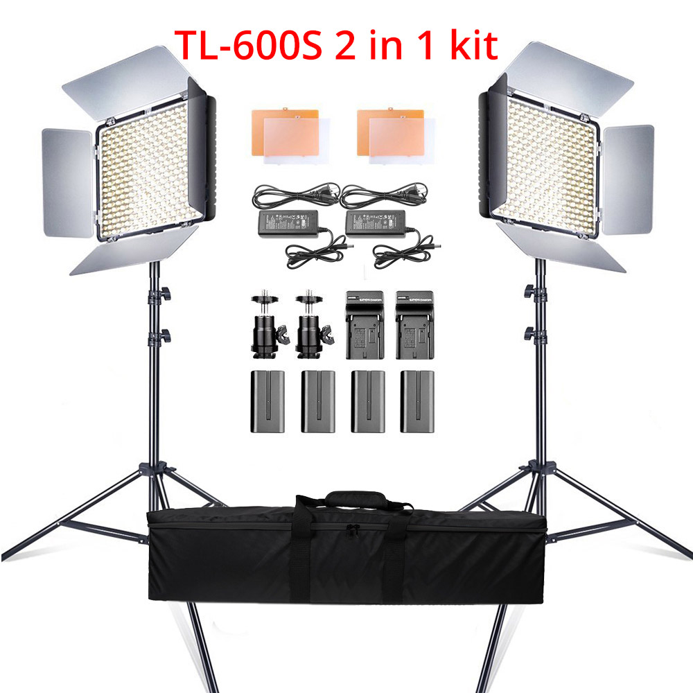 Ring Light LED Video Light Lamp with Tripod Stand 5