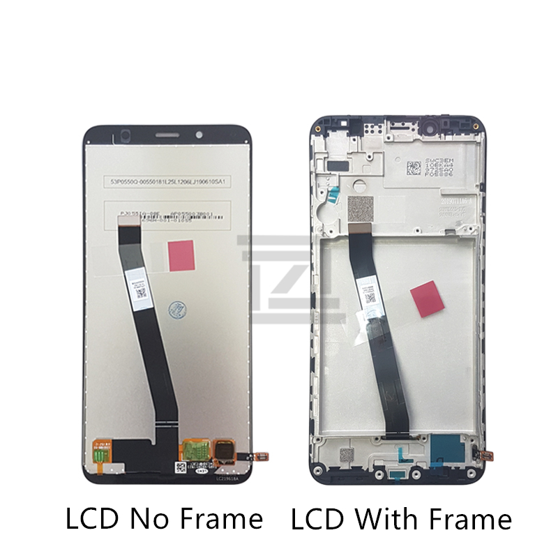 Image 2 - for Xiaomi Redmi 7A LCD Display Touch Screen Digitizer Assembly with Frame for redmi 7a display replacement Repair Spare Parts-in Mobile Phone LCD Screens from Cellphones & Telecommunications on