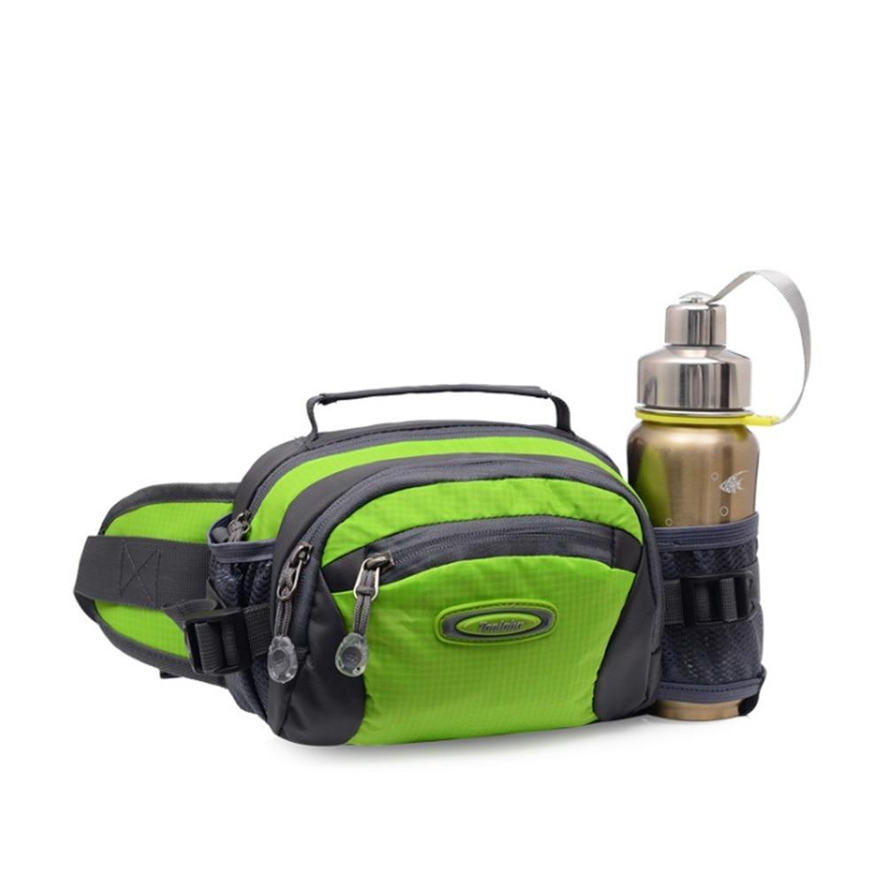 Hiking Running Pouch Fanny Pack Waterproof Gym Waist Bag Water Bottle Holder Fitness Outdoor Lightweight Climbing Traveling