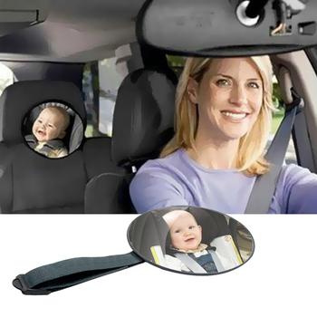 Bezpieczeństwo samochodu tylne siedzenie lusterko wsteczne regulowane dziecko widok twarzą do lusterko wsteczne dziecko niemowlę bezpieczeństwo dziecko dzieci Monitor akcesoria samochodowe tanie i dobre opinie EAFC CN (pochodzenie) Lusterka wewnętrzne Child Infant Care 100g 17cm 2018 0 8cm Baby mirror As the pictures Interior Mirrors Interior Mirrors