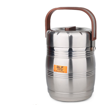 Stainless Steel Insulated Lunch Box Cooler Barrel 3 Layer Portable Pot Kitchen Accessories Food Box Stainless Steel Bento Box фото