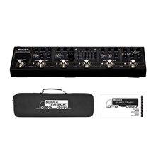 MOOER ブラックトラック 6 · イン · 1 複合ギターペダルコンプレッサー + オーバードライブ + 歪み + EQ + 変調 + 遅延/リバーブ内蔵チューナー