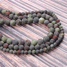 Hot?Sale?Natural?Stone?Dracaena15.5?Pick?Size?4/6/8/10/12mm?fit?Diy?Charms?Beads?Jewelry?Making?Accessories