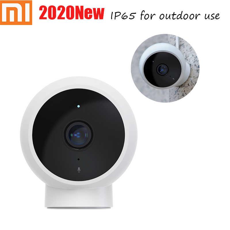 Terbaru Xiaomi Mijia Outdoor Ai Smart IP Camera IP65 Tahan Air Tahan Debu 1080 P FHD 170 ° 2.4GG Wi-fi Malam visi Upto 32G