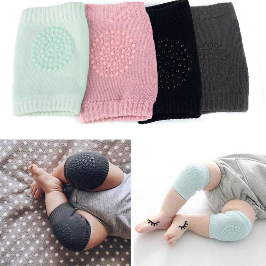 Baby Kids Knee Pads Crawling Anti - Slip Safety Here Support As Legs Warm Pair Knitted Pad Soft And Comfortable Baby Socks