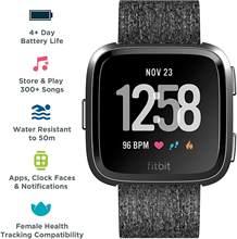 Фитнес-часы Fitbit Versa Lite SE, водонепроницаемые умные часы с пульсометром, отслеживанием музыки и плавания
