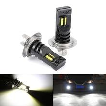 цена на H7 60W  12LED Fog Light Bulb Auto Car Driving DRL Lamp 6000k White