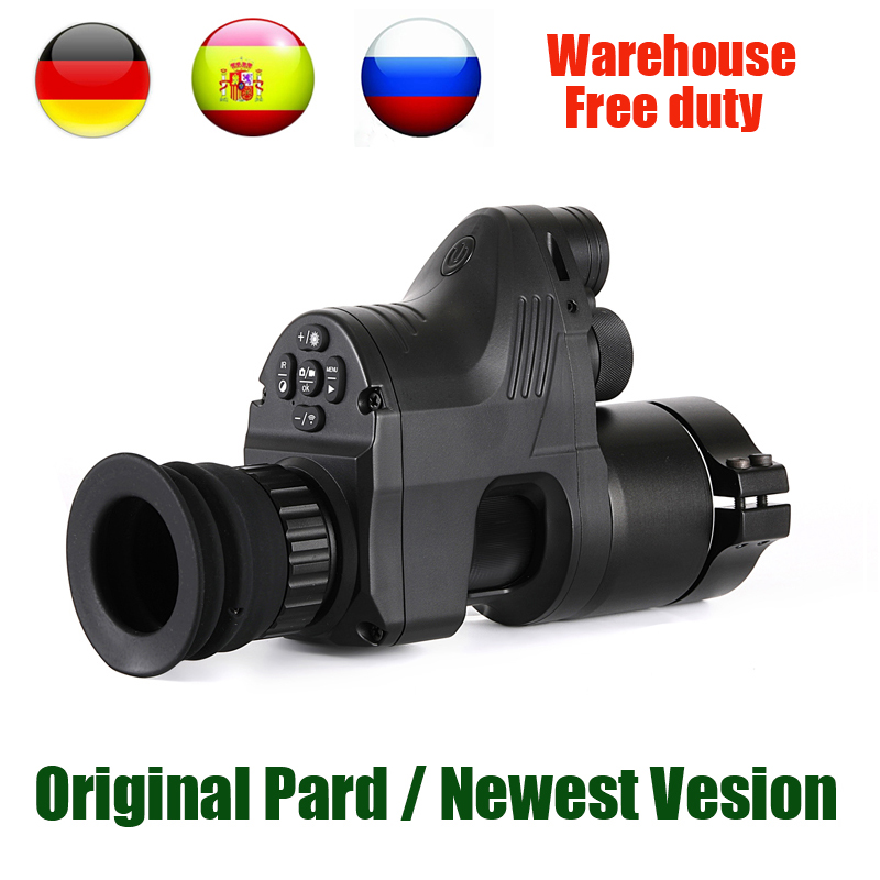 PARD NV007 Red Dot Vistas Da Noite 850nm Caça Night Vision Scope Wifi APP Optics Telescópios 5W Infrared Night Vision riflescope