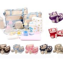 Set Large Diaper Bag baby Bags Durable Multifunctional Big Capacity Nappy Kids stroller backpack for mom Waterproof Tote