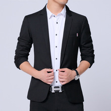 Luxury Men Jackets New 2021 Spring Male Stand Collar Blazer Slim Fit Mens Blazer Black Jacket Men Plus Size 5XL
