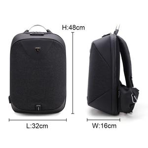 Image 3 - ARCTIC HUNTER โรงเรียน 15.6 กระเป๋าเป้สะพายหลังแล็ปท็อปกันน้ำ Mochila Casual Travel USB Back Pack กระเป๋า Anti Theft ของขวัญ