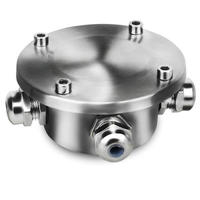 304 Stainless Steel IP68 Waterproof Connector Anti corrosion and Explosion proof Connector