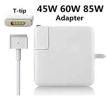 High Quality 45W 60W 85W MagSafe 2 T-Tip Notebook Laptop Power Adapter Charger For Apple Macbook Air Pro Retina 11'' 13 15 17 аксессуар блок питания apple 60w magsafe2 power adapter for macbook pro md565z a