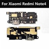 Para xiaomi redmi nota 4 usb plug porta placa de carga & substituição do microfone do reparo