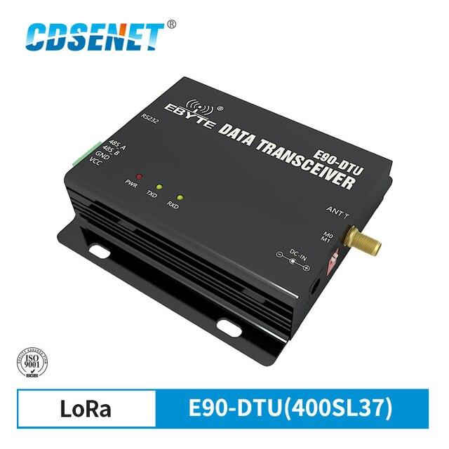 SX1262 SX1268 E90 DTU 400SL37 לורה מודול 433MHz 37dBm RSSI ממסר רשת Modbus LBT RS232 RS485 רדיו אלחוטי משדר