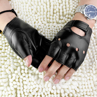 Перчатки в стиле панк из искусственной кожи 1
