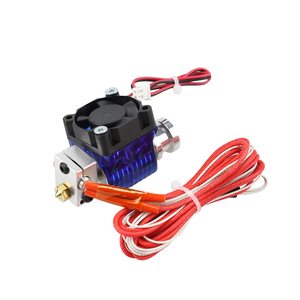 Image 5 - 3D Printer J head Hotend with Single Cooling Fan for 1.75mm/3.0mm 3D v6 bowden Filament Wade Extruder 0.2mm/0.3mm/0.4mm Nozzle