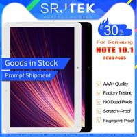 Srjtek 10.1 For Samsung Galaxy Note 10.1 SM P600 P605 P600 LCD Display+Touch Screen Digitizer Sensor Full Assembly With Frame